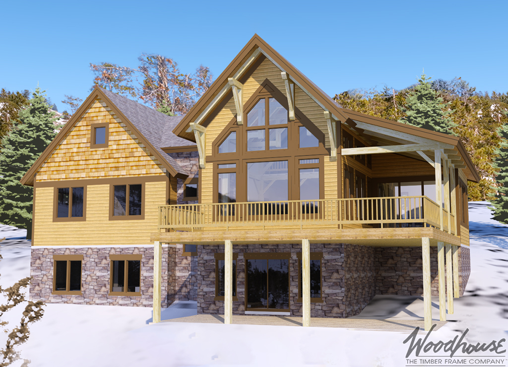 Keystone Custom Homes Floor Plans: Woodhouse The Timber Frame Company