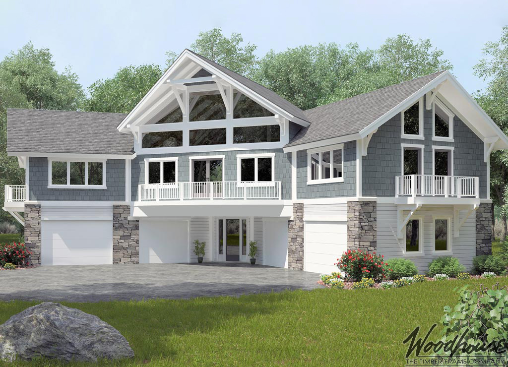 Seneca woodhouse the timber frame company for Carriage home designs