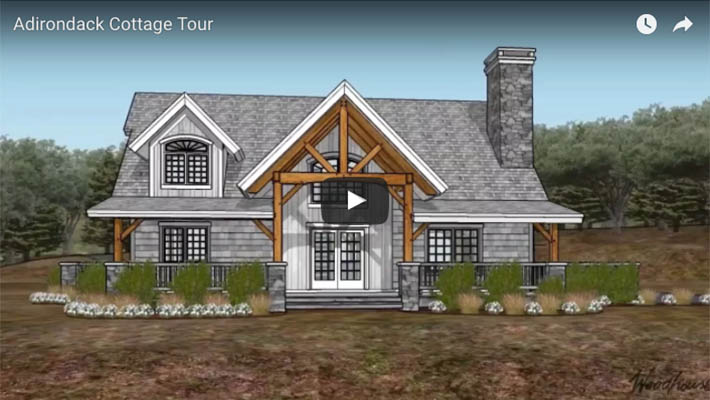 Adirondack Cottage Pre Design Woodhouse The Timber Frame