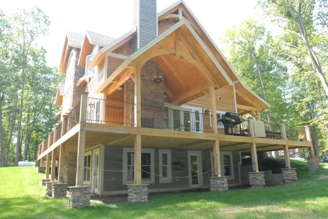 Passive Solar Energy In Timber Frame Homes Woodhouse The